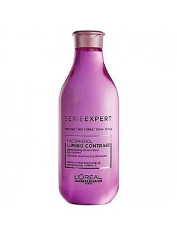 Loreal Lumino Contrast, szampon rozświetlający farbowane włosy 300ml