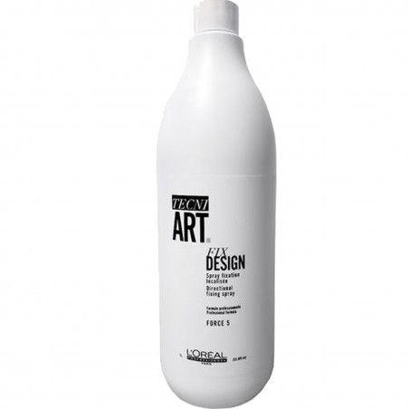 Loreal Fix Design, Spray-uzupełniacz fryzury, zawiera filtry UV 750ml