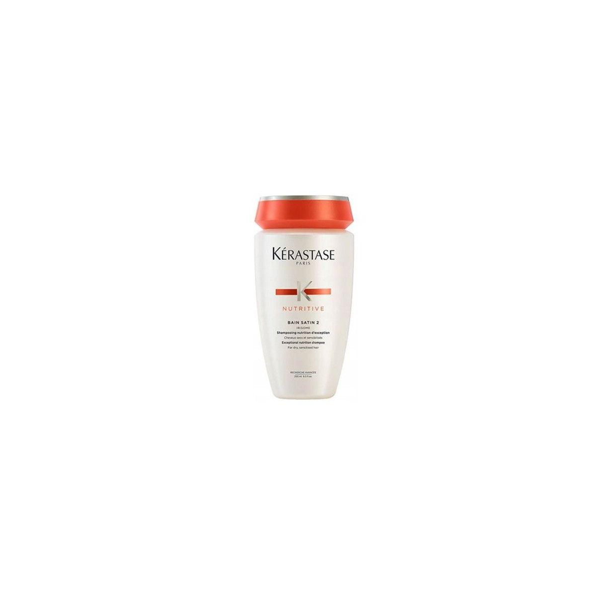 KERASTASE BAIN SATIN 2 szampon do suchych i wrażliwych włosów 250ml