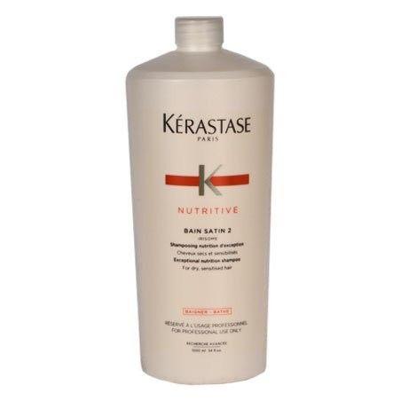 KERASTASE BAIN SATIN 2 szampon nadający połysk włosom 1000ml