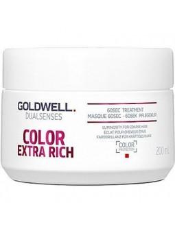 Goldwell Color Extra Rich 60sec, balsam-maska do włosów farbowanych 200ml