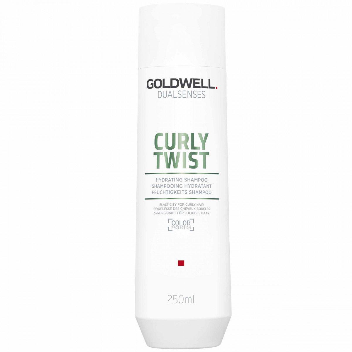 Goldwell Curly Twist, Szampon nawilżajacy do włosów kręconych 250ml