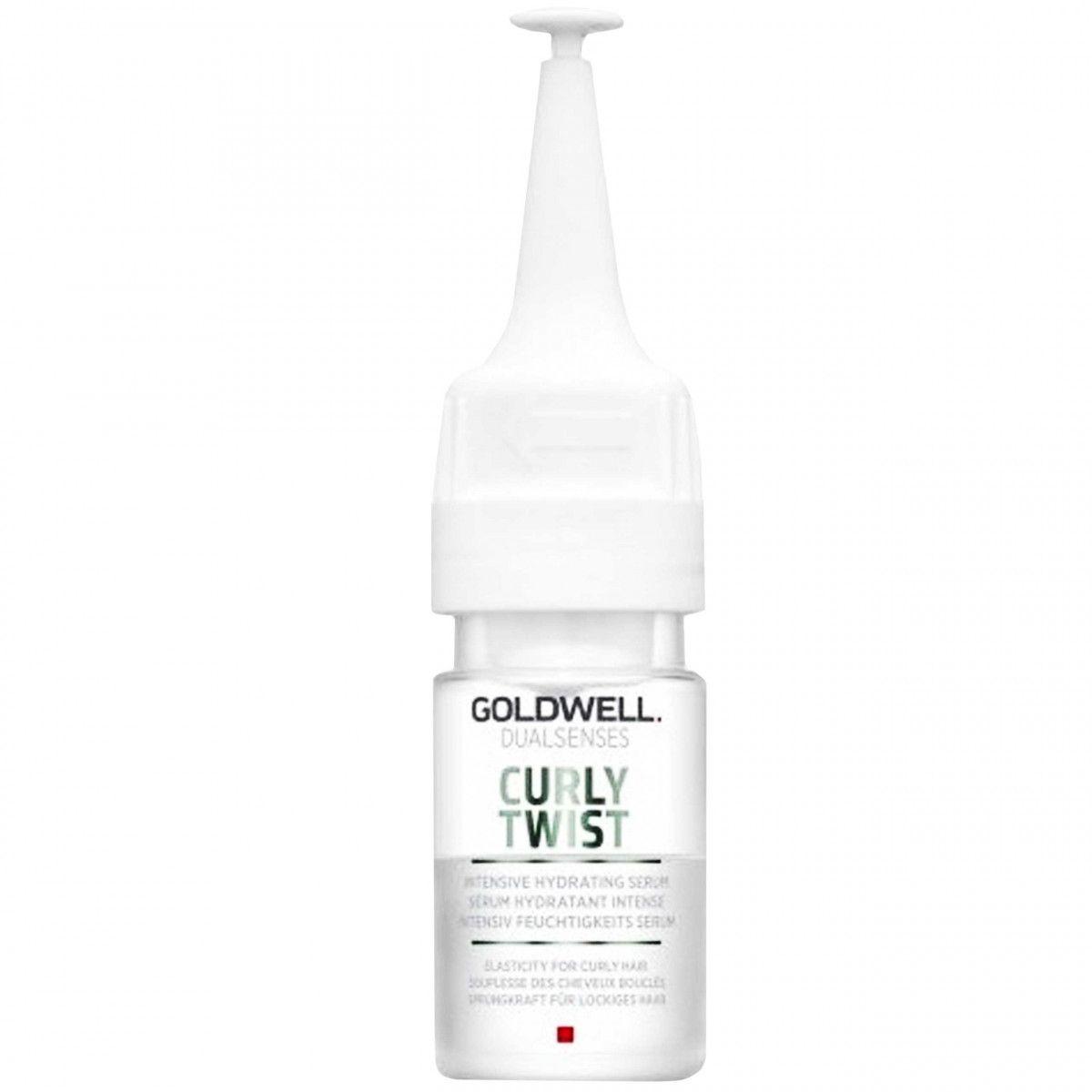 Goldwell Curly Twist Serum, nawilżająca ampułka do kręconych włosów 18ml