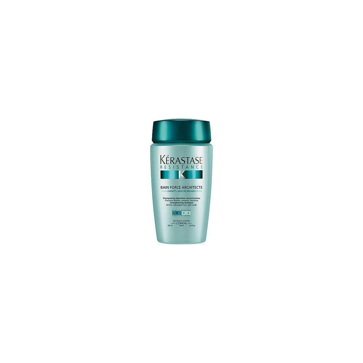 Kerastase Force Architecte szampon intensywnie regenerujący i nawilżający włosy 250ml