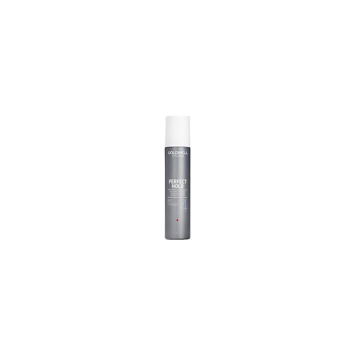 Goldwell Volume Big Finish Spray, Lakier chroniący kolor i dodający włosom objętości 300ml