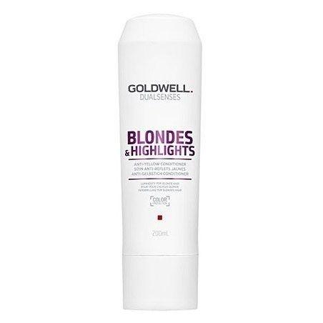 Goldwell Blondes Highlights, Odżywka po zabiegu rozjaśniania włosów 200ml