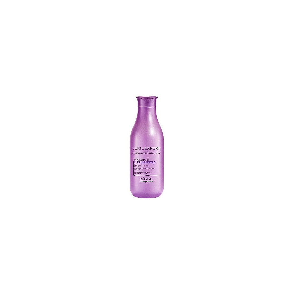 Loreal Liss Unlimited, odżywka wygładzająca przeciw puszeniu się włosów 200ml