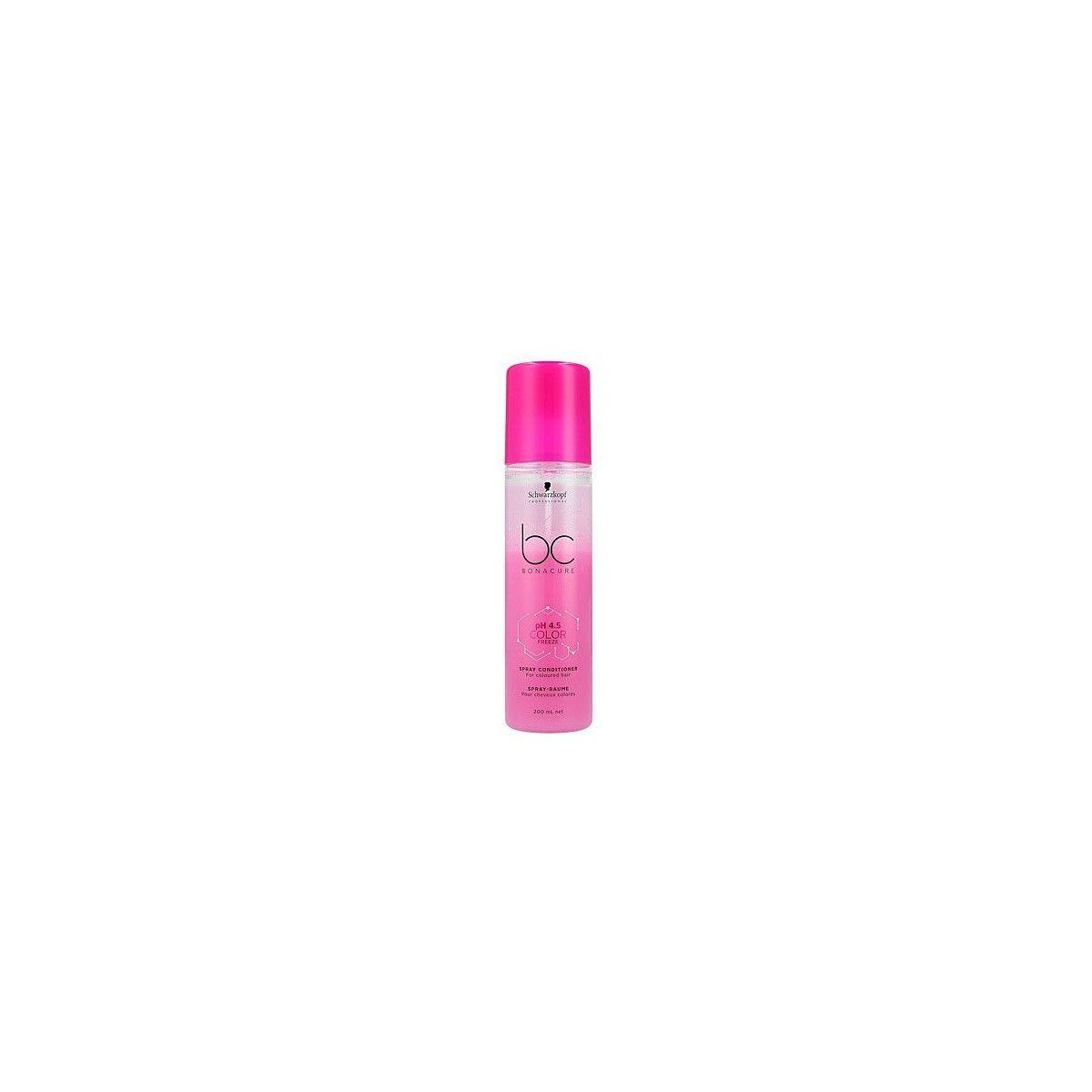 Schwarzkopf BC Color, Odżywka w sprayu na matowe kolory, nadaje blasku 200ml