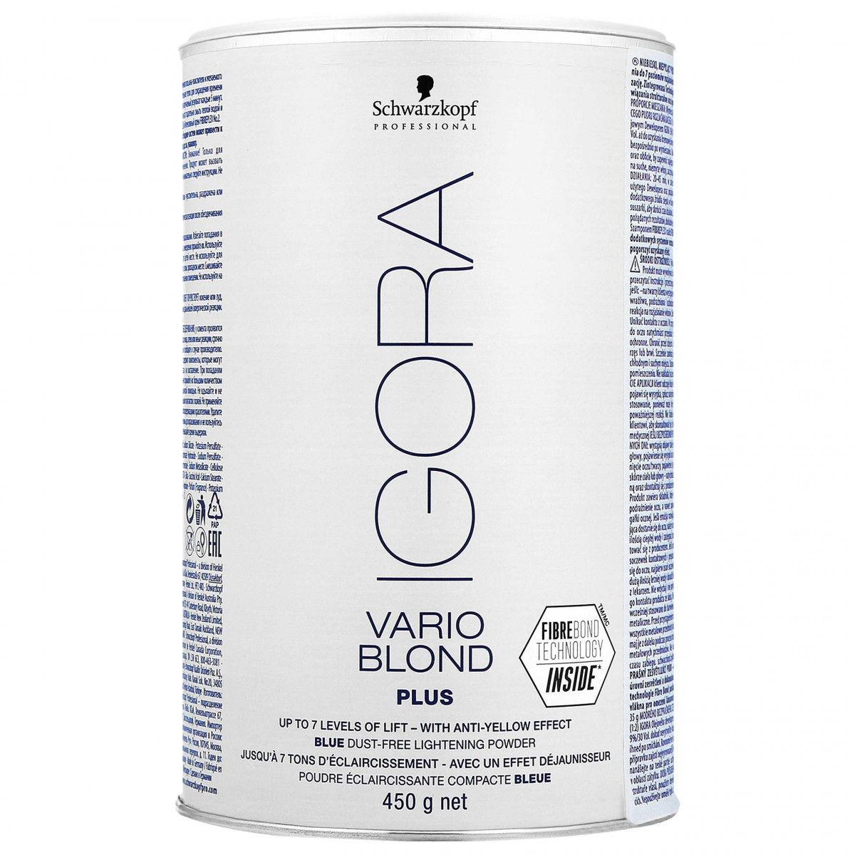 Schwarzkopf Igora Vario Blond Plus puder rozjaśniający 450g