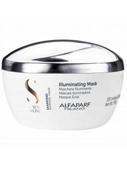 Alfaparf Diamond maska rozświetlająca do włosów normalnych 200 ml