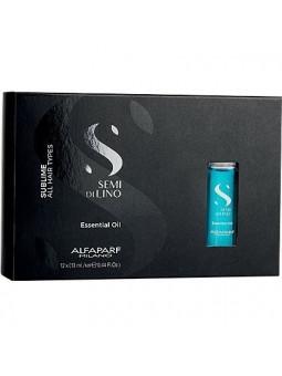 Alfaparf Diamond Essential Oil Esencjonalny olejek Rozświetlający do włosów normalnych 12x13ml