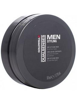 Goldwell DLS Men Dry Wax, utrwalający wosk do włosów 50ml