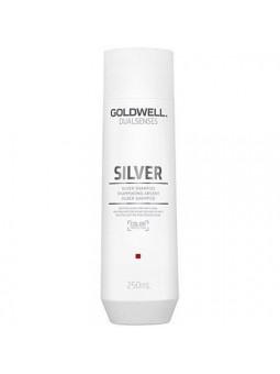 Goldwell DLS Silver, Szampon rozjaśniający do włosów siwych i blond 250ml