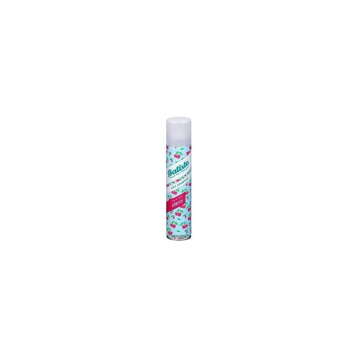 Batiste Cherry Dry, suchy szampon o wiśniowym zapachu, pochłania sebum 200ml