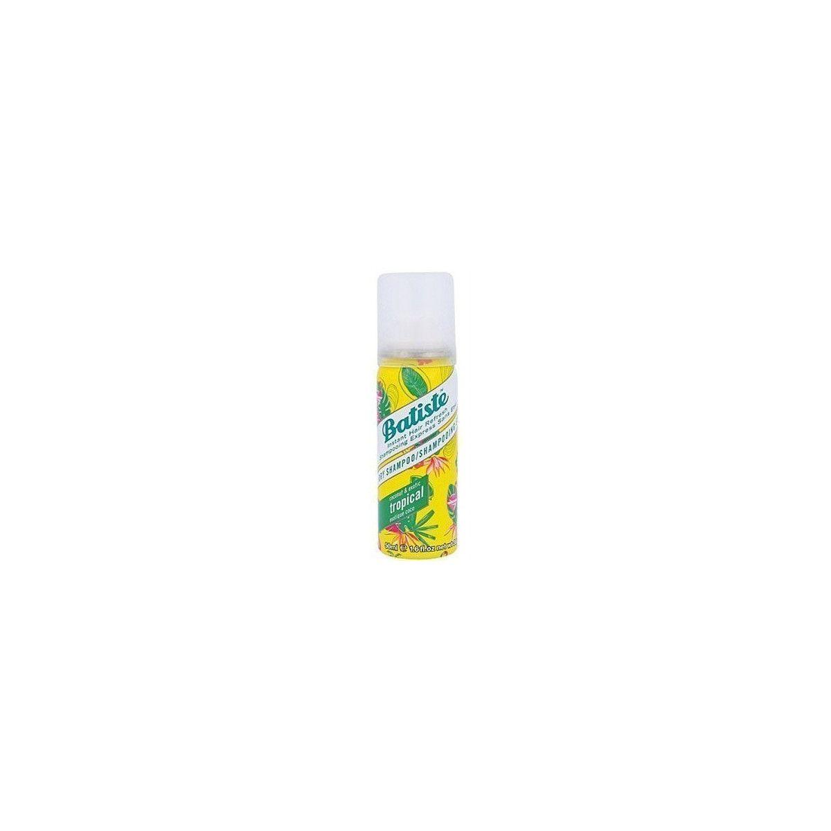 Batiste Tropical, oczyszczający suchy szampon z nutą kokosa i melona 50ml