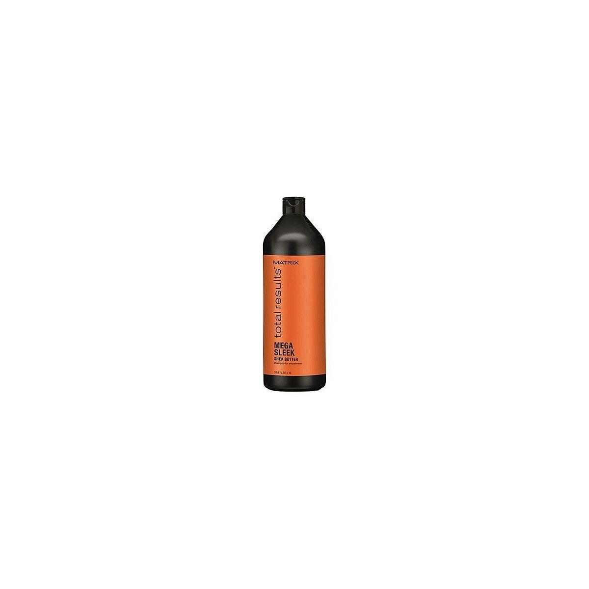 Matrix Mega Sleek szampon z masłem shea 1000ml
