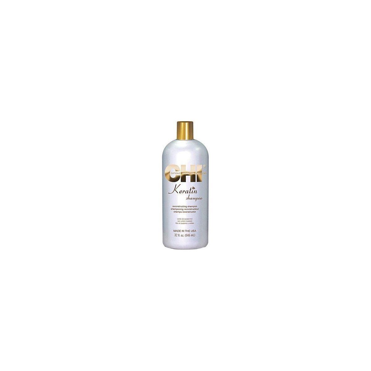 CHI Keratin, Rekonstruujący szampon do włosów 946ml
