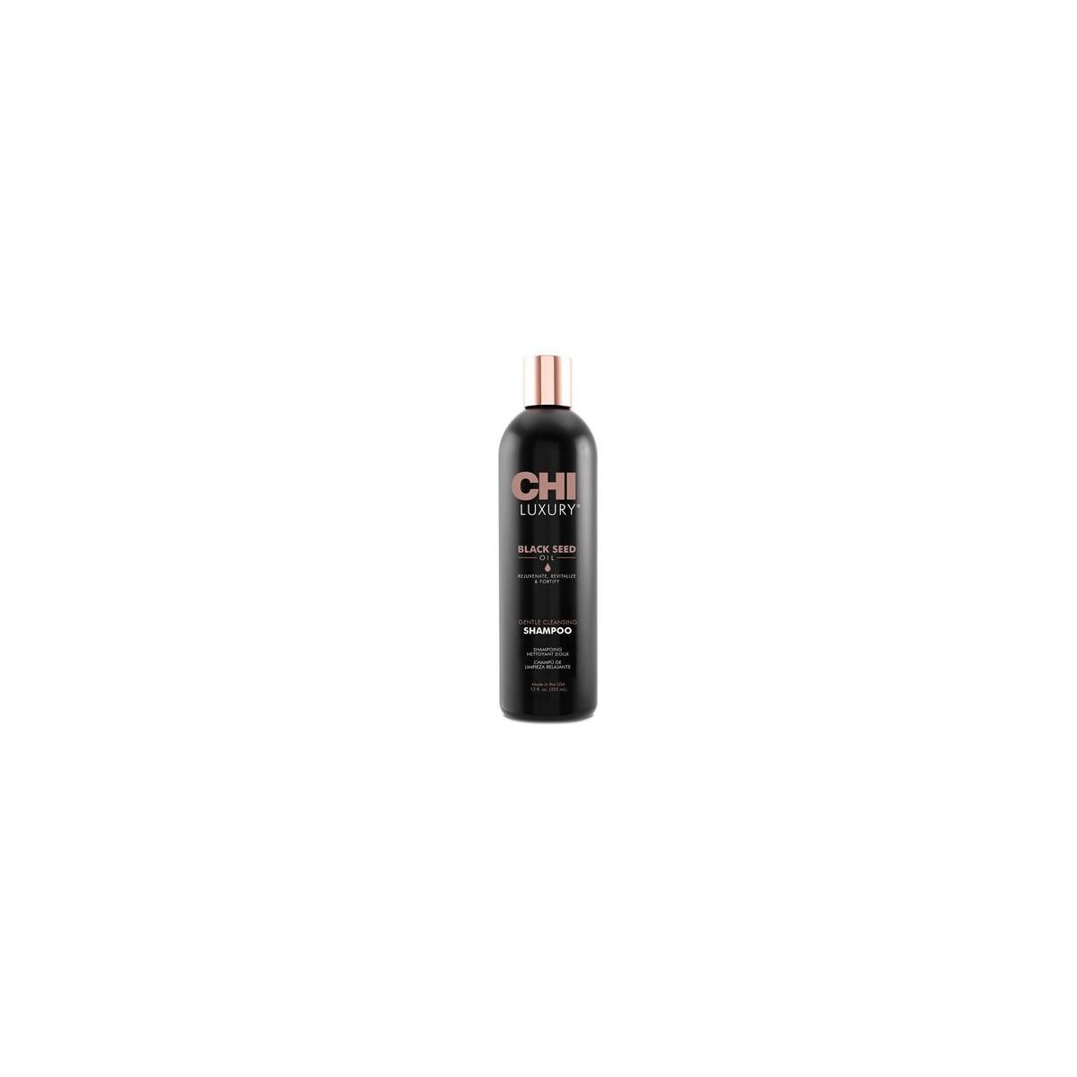 CHI Luxury Black Seed Oil, Szampon oczyszczajacy do włosów 355ml