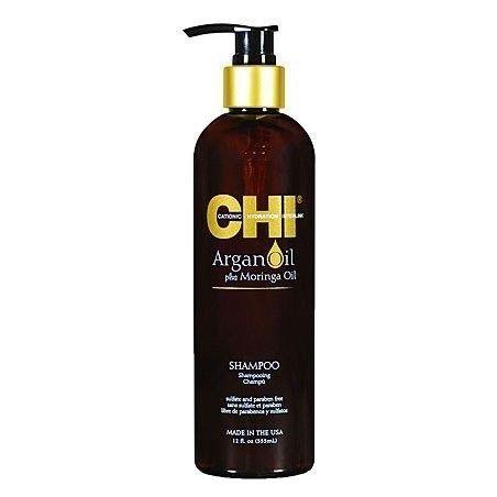 CHI Argan Oil Moringa, Szampon z olejkiem arganowym i moringa 355ml