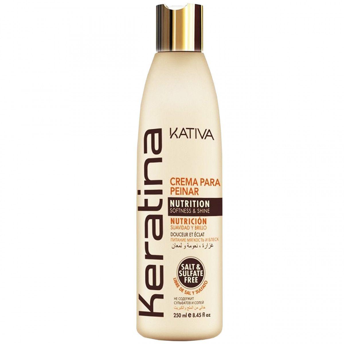 Kativa Keratina Crema Para krem do stylizacji włosów 250ml