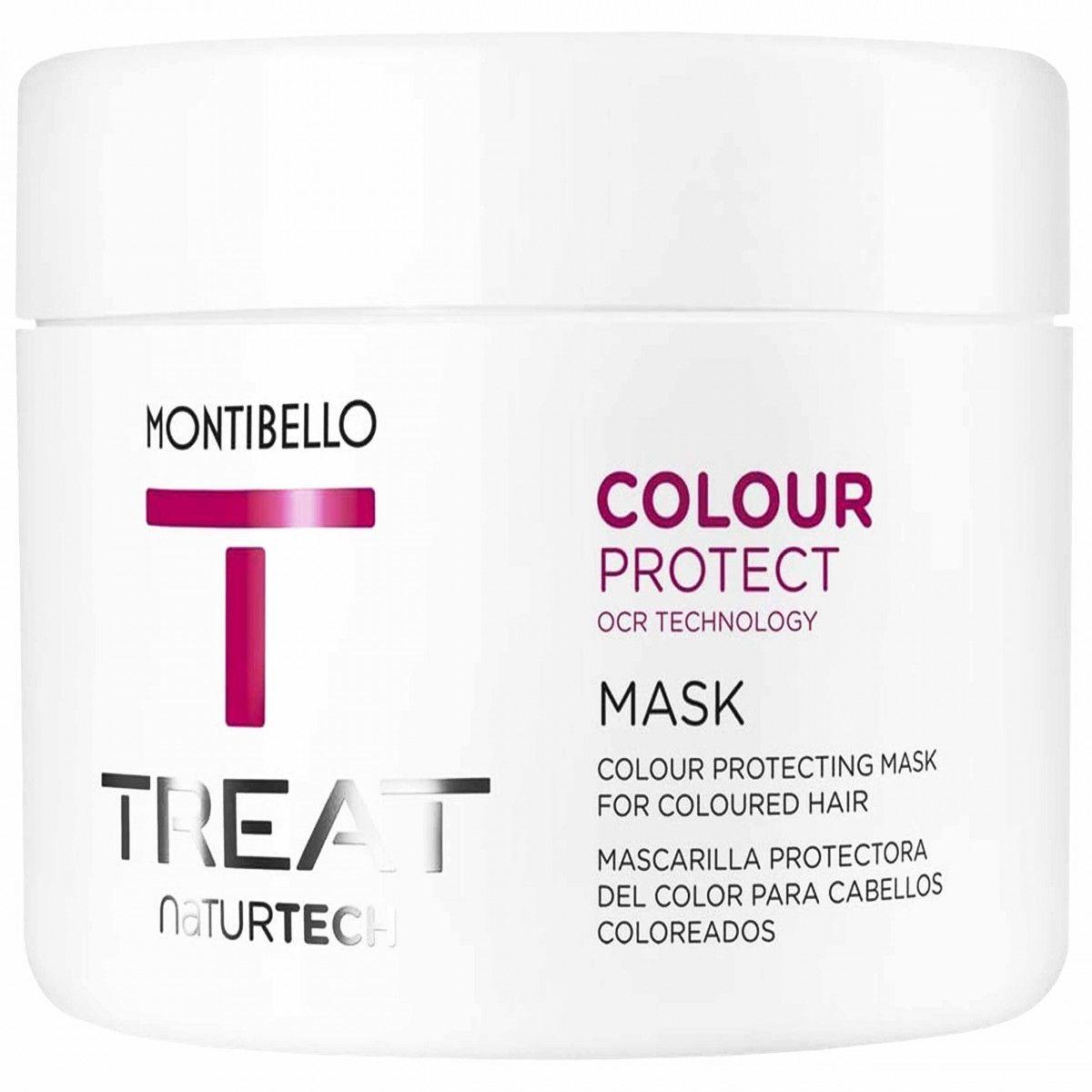Montibello Colour Protect, maska odżywiająca włosy, przedłuża trwałość koloru 500ml