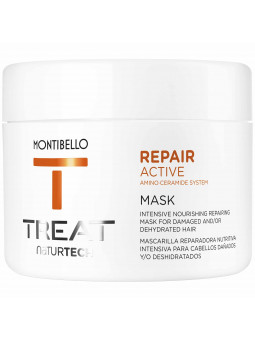 Montibello Repair Active, maska z proteinami do włosów zniszczonych, nawilża i wygładza 500ml
