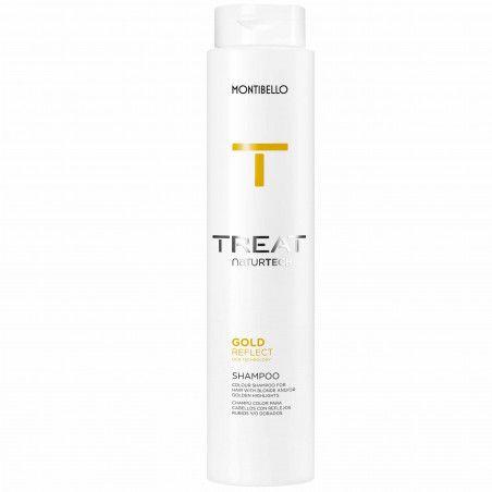 Montibello Colour Reflect, szampon do włosów ze złotymi refleksami, bez siarczanów 300ml