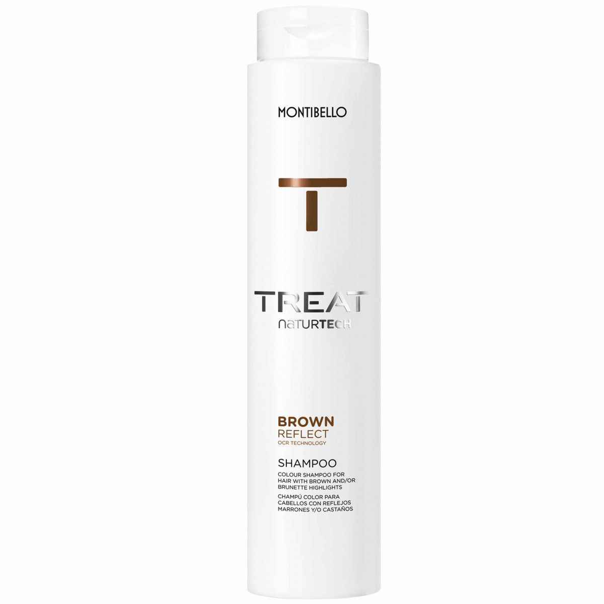 Montibello Colour Reflect, szampon do włosów brązowych, bez siarczanów 300ml