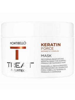 Montibello Keratin Force termoochronna maska do zniszczonych włosów 200 ml