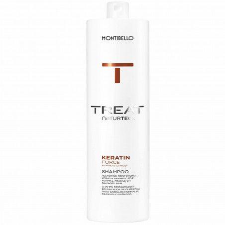 Montibello Keratin Force szampon z keratyną nawilża i oczyszcza 1000 ml