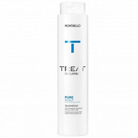 Montibello Pure Scalp, szampon oczyszczająco-kojący regulujący łupież 300ml