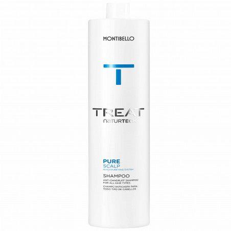 Montibello Pure Scalp, szampon przeciwłupieżowy, pielęgnuje i nawilża skórę głowy 1000ml