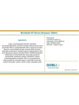 Montibello Sensi Dermo - skład produktu.
