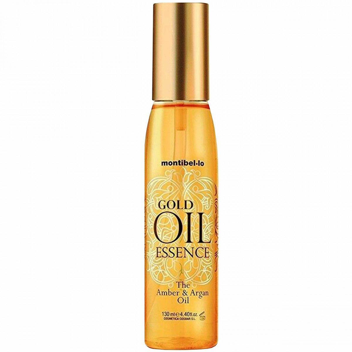 Montibello Gold Oil Essence, olejek bursztynowo-arganowy, wzmacnia i nawilża 130ml