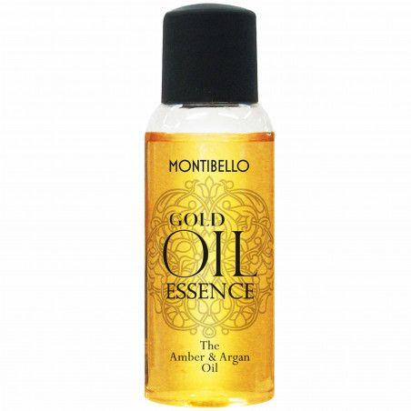 Montibello Gold Oil Essence, olejek bursztynowo-arganowy, zapobiega puszeniu 30ml