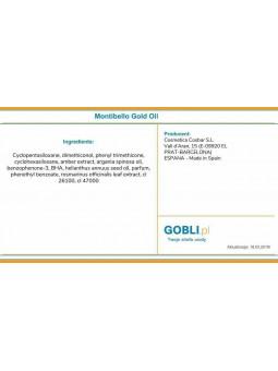 Skład Montibello Gold Oil Essence