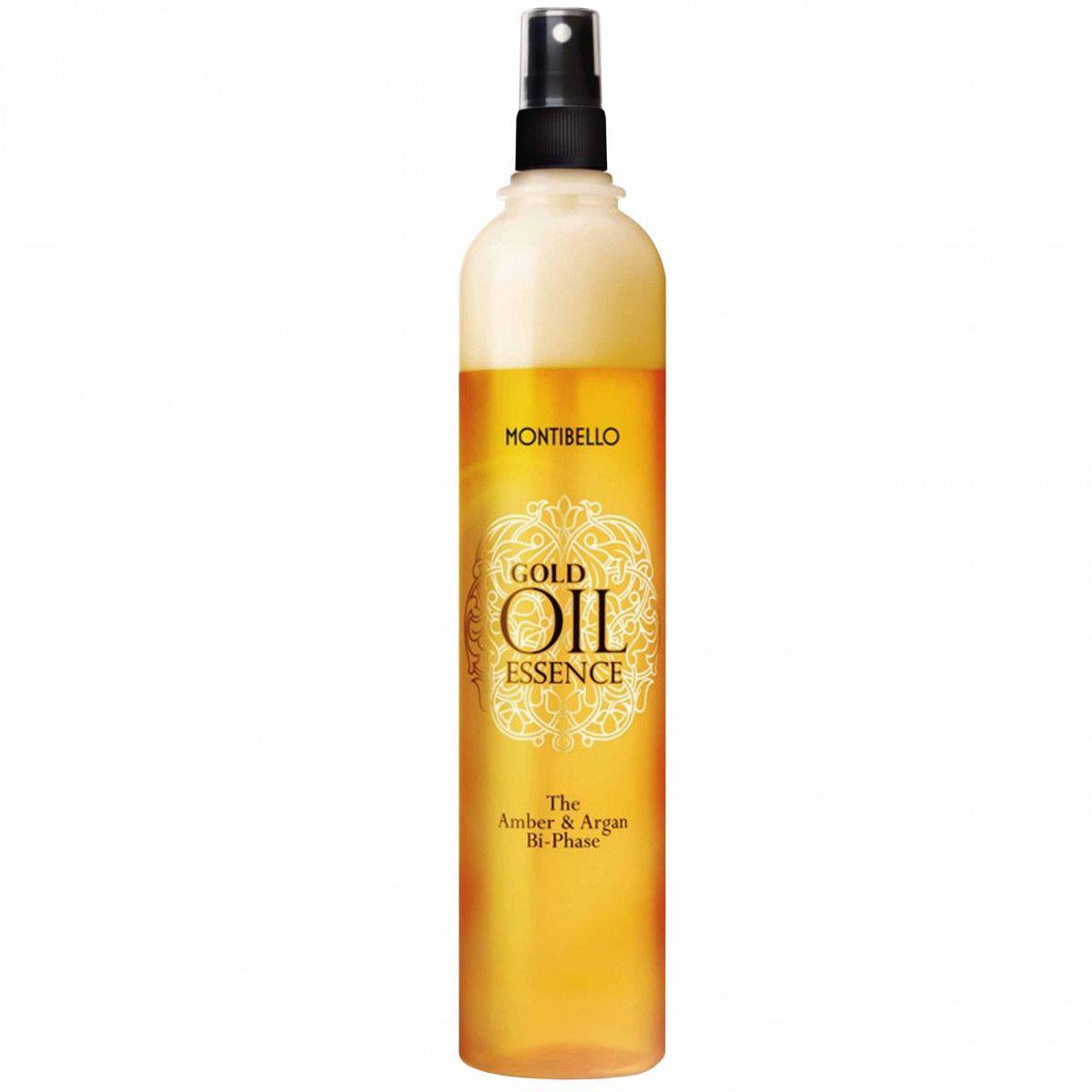 Montibello Gold Oil Essence, odżywka dwufazowa, wygładza, nawilża i wzmacnia 400ml