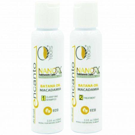 ENCANTO DO BRASIL NANOX 2x 100ml Zestaw bez formaldehydu