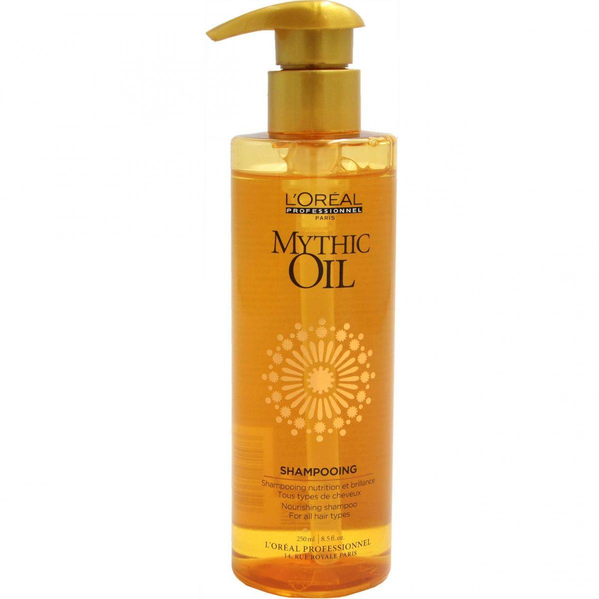 Loreal Mythic Oil, nawilżająco-wzmacniający szampon do włosów cienkich 250ml