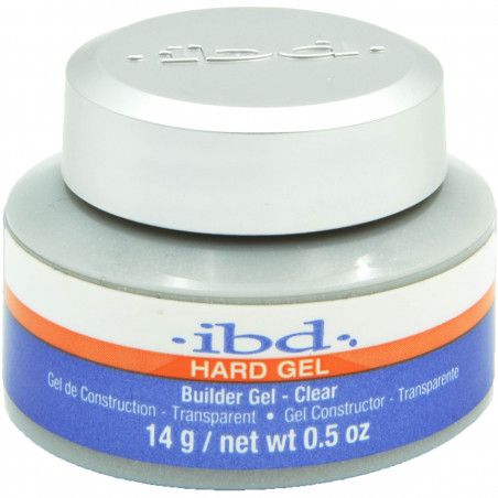 IBD Builder gel 14g żel budujący CLEAR bezzapachowy, bezkwasowy, łagodny