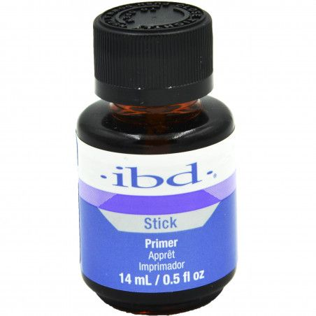 IBD Stick Primer 14ml odtłuszczacz zapewnia doskonałą przyczepność żeli i akryli