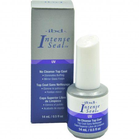 IBD Intense Seal UV Top Coat żel nabłyszczający, utrwala manicure