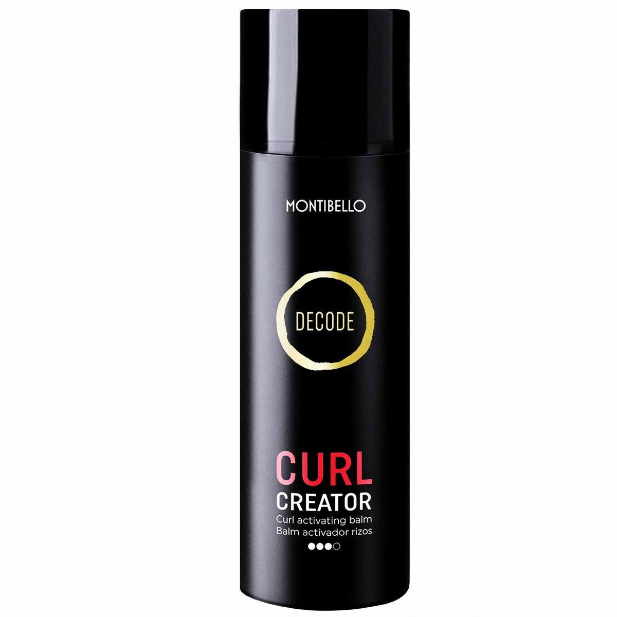 Montibello Curl Creator mocny termoochronny krem do loków, zapobiega puszeniu 150ml