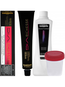 Loreal Dia Richesse, zestaw do farbowania włosów 50ml + oxydant 75ml