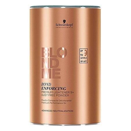 Schwarzkopf BlondMe Bond Enforcing Premium Lighter 9+ dust free powder, rozjaśniacz 450g