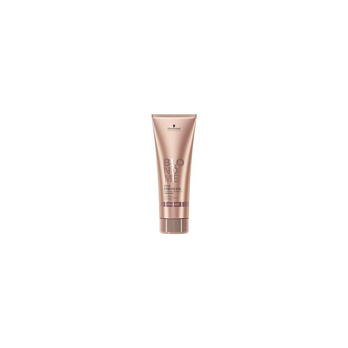 Schwarzkopf BlondMe Tone Enhancing, szampony do ciepłych blondów, sulfate-free 250ml