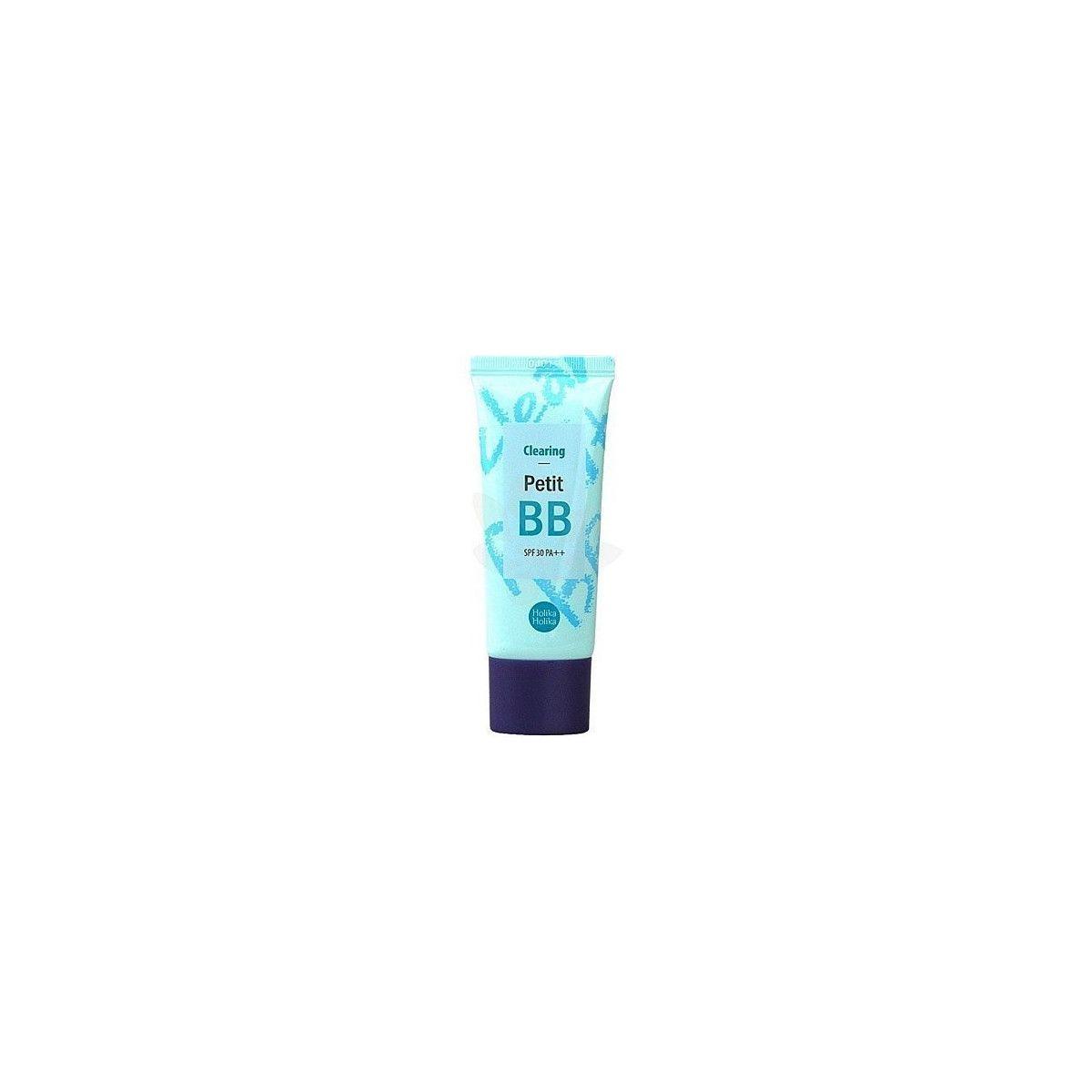 Holika Holika Clearing Petit BB SPF 30 PA++, oczyszczający krem z filtrem do skóry 30ml