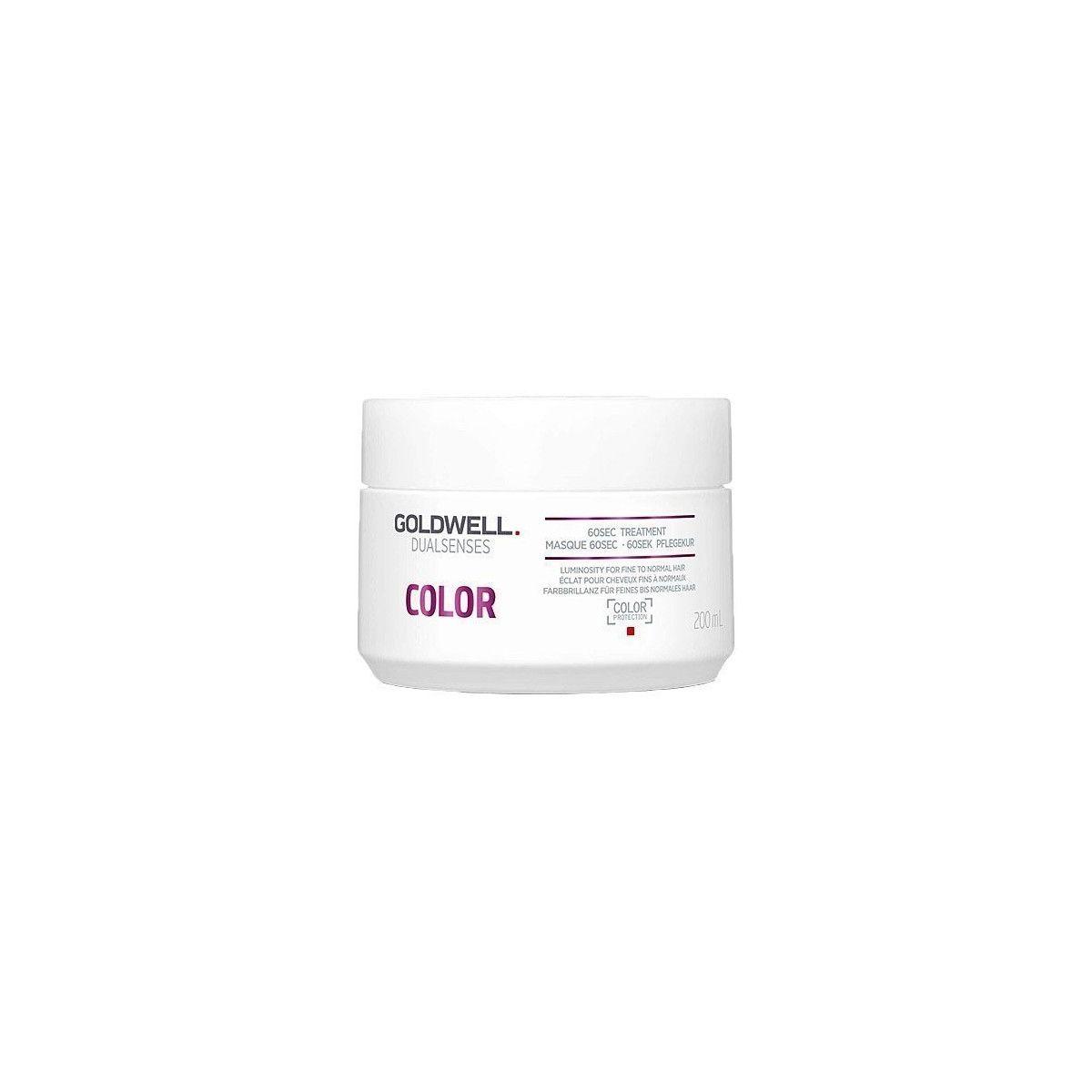 Goldwell DLS Color 60 sec, balsam do włosów przedłużający trwałość koloru 200ml