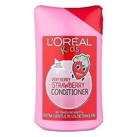 Loreal Kids So Strawberry, truskawkowa odżywka dla dzieci na bazie naturalnych składników 250ml