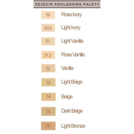 Podkład Bourjois Healthy Mix paleta kolorów